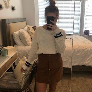She + Sky corduroy skirt
